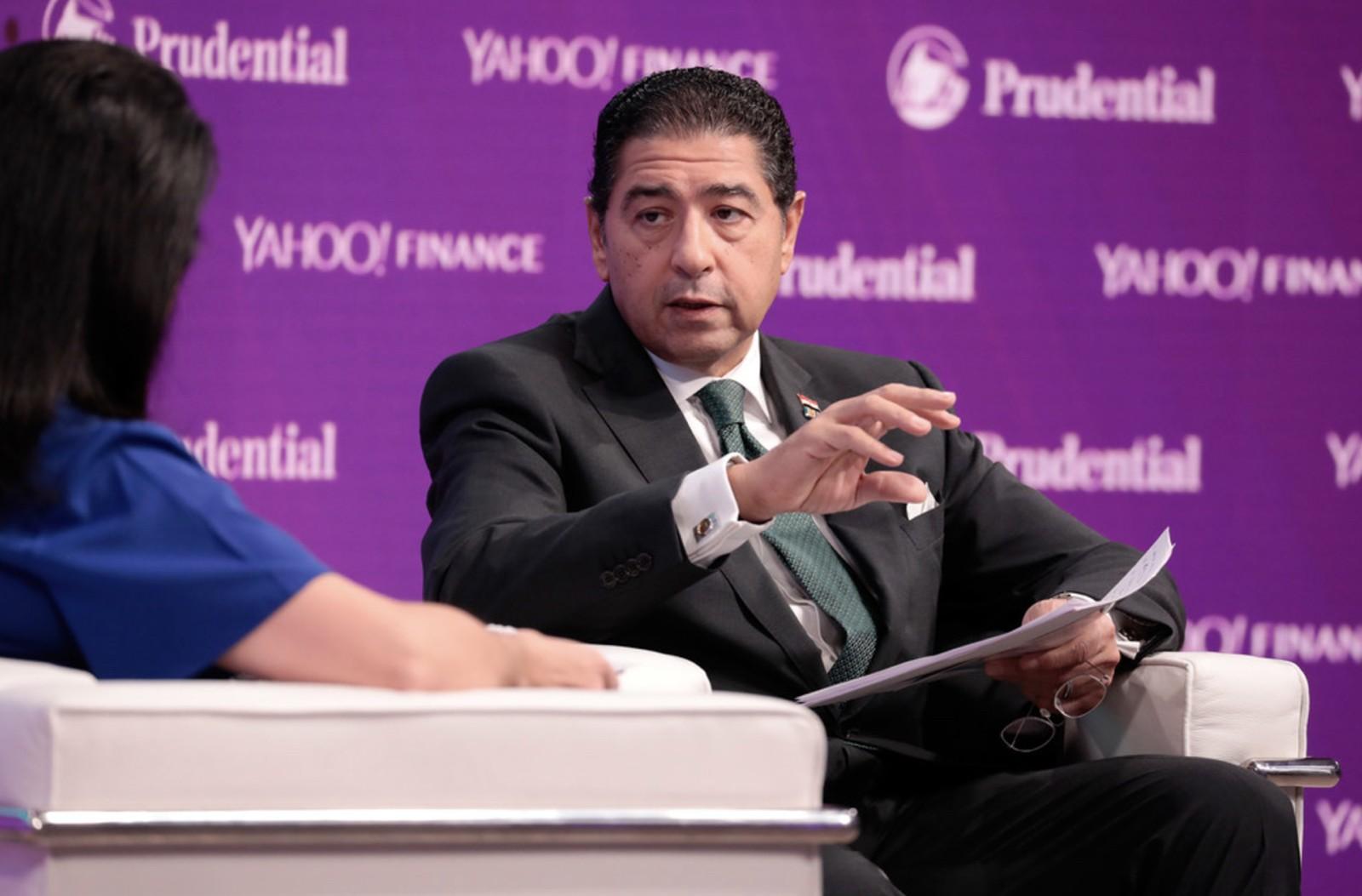 هشام عز العرب- رئيس اتحاد بنوك مصر