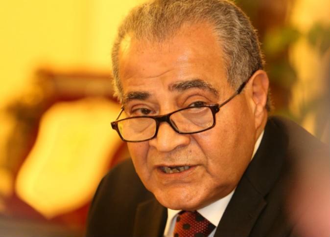 علي مصيلحي وزير التموين المصري
