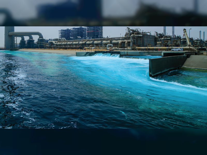 انشاء أكبر محطة لتحلية المياه في أم القيوين