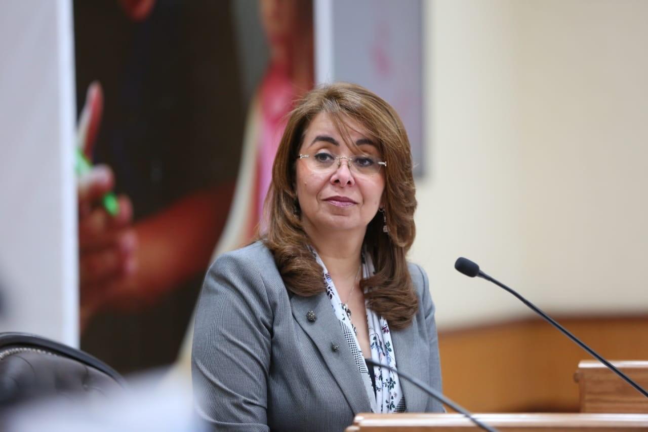 غادة والي- وزيرة التضامن الاجتماعي