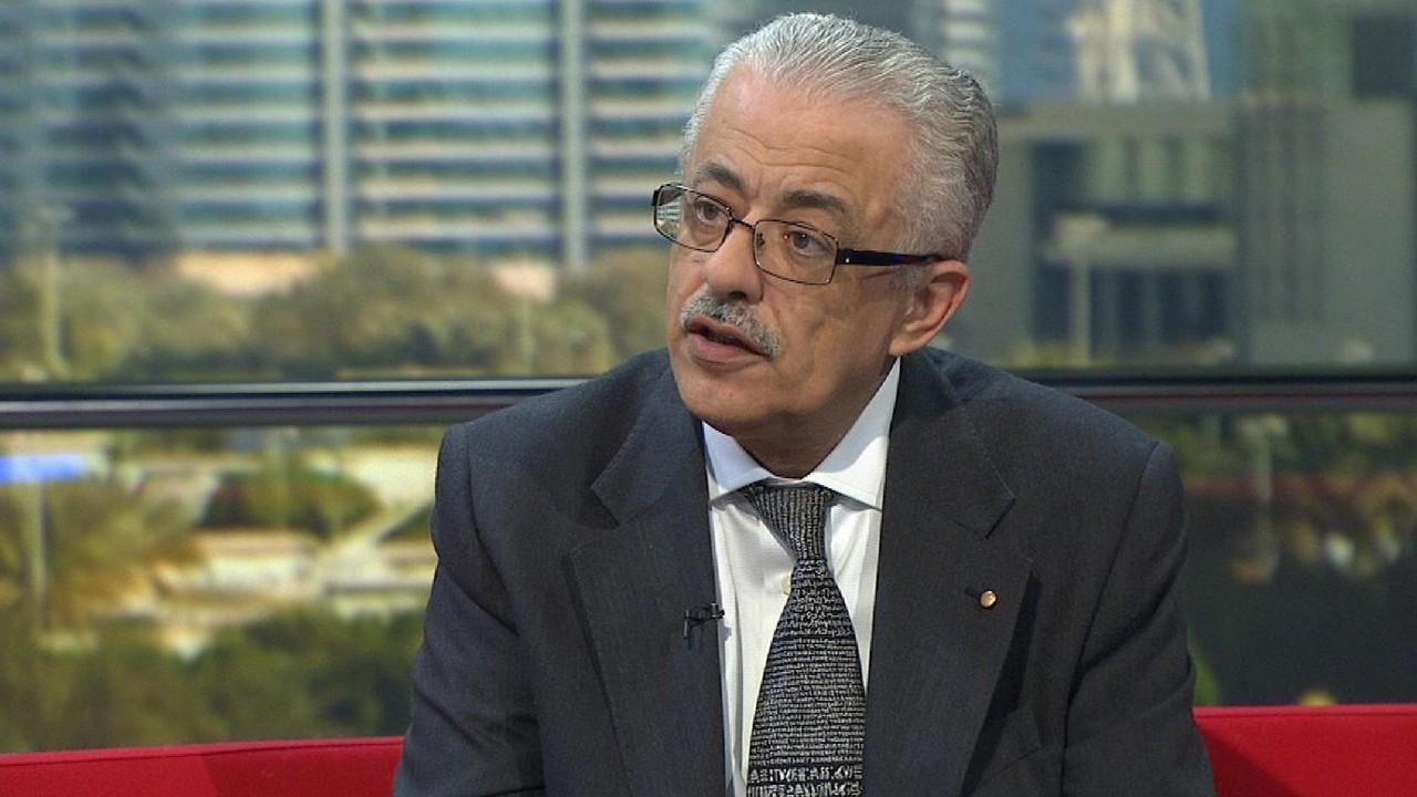 طارق شوقي وزير التربية والتعليم المصري