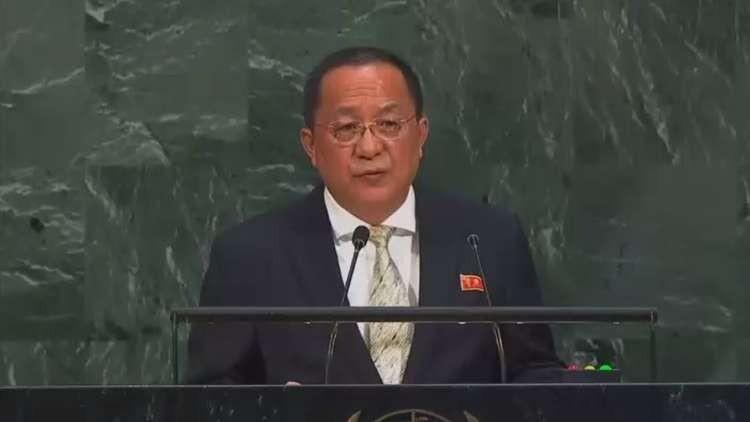 وزير الخارجية بكوريا الشمالية
