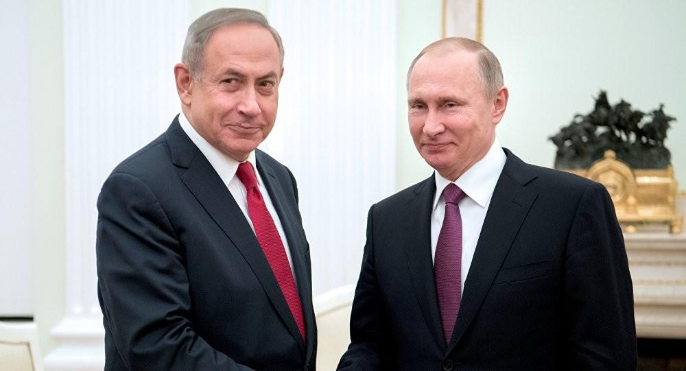 الرئيس الروسي ونتيناهو