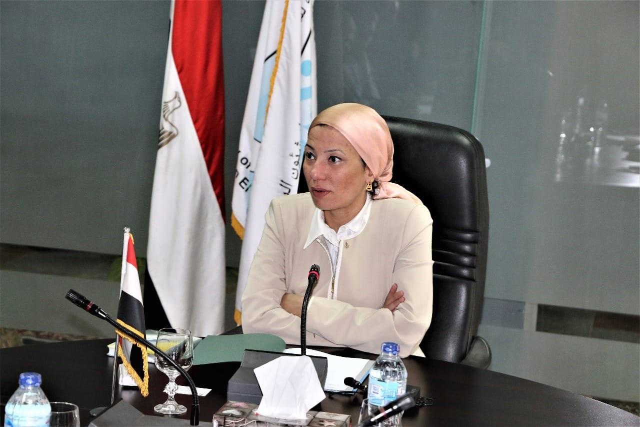 ياسمين فؤاد - وزيرة البيئة المصرية