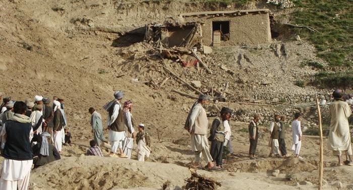 زلزال باكستان وافغانستان