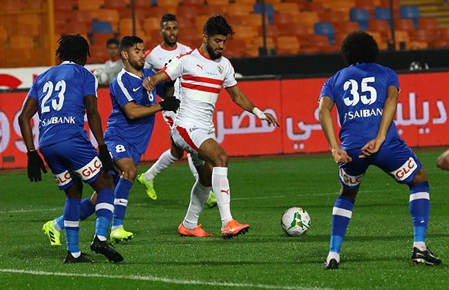 شاهد ملخص مباراة الزمالك ضد سموحة في الدوري المصري