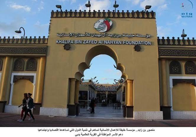 مؤسسة خليفة بن زايد آل نهيان للأعمال الإنسانية