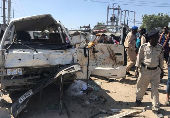 تفجير الصومال