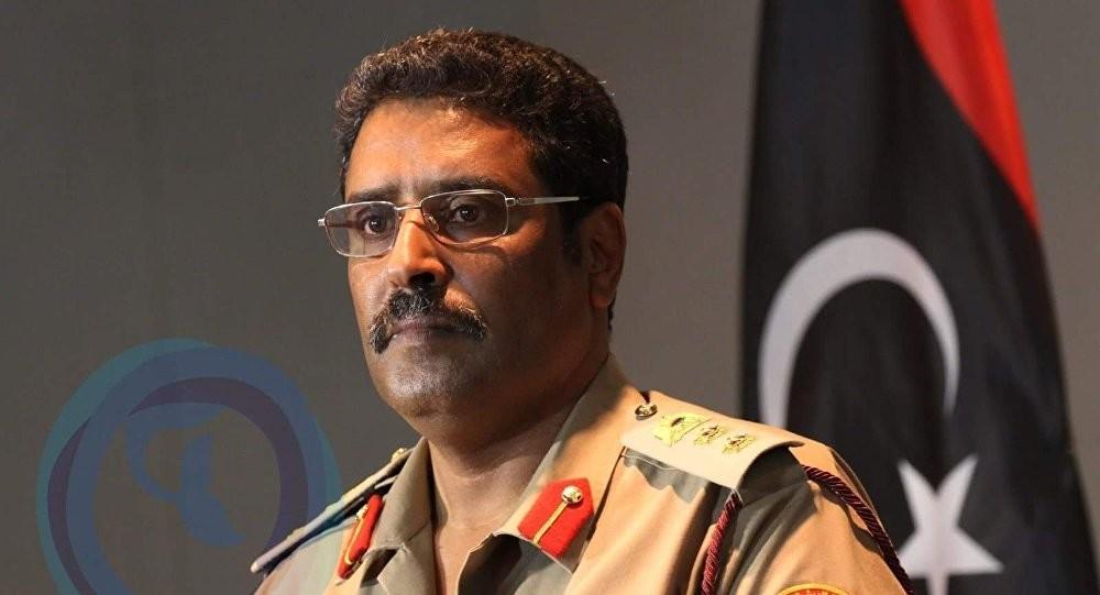 اللواء أحمد المسماري- المتحدث باسم الجيش الليبي