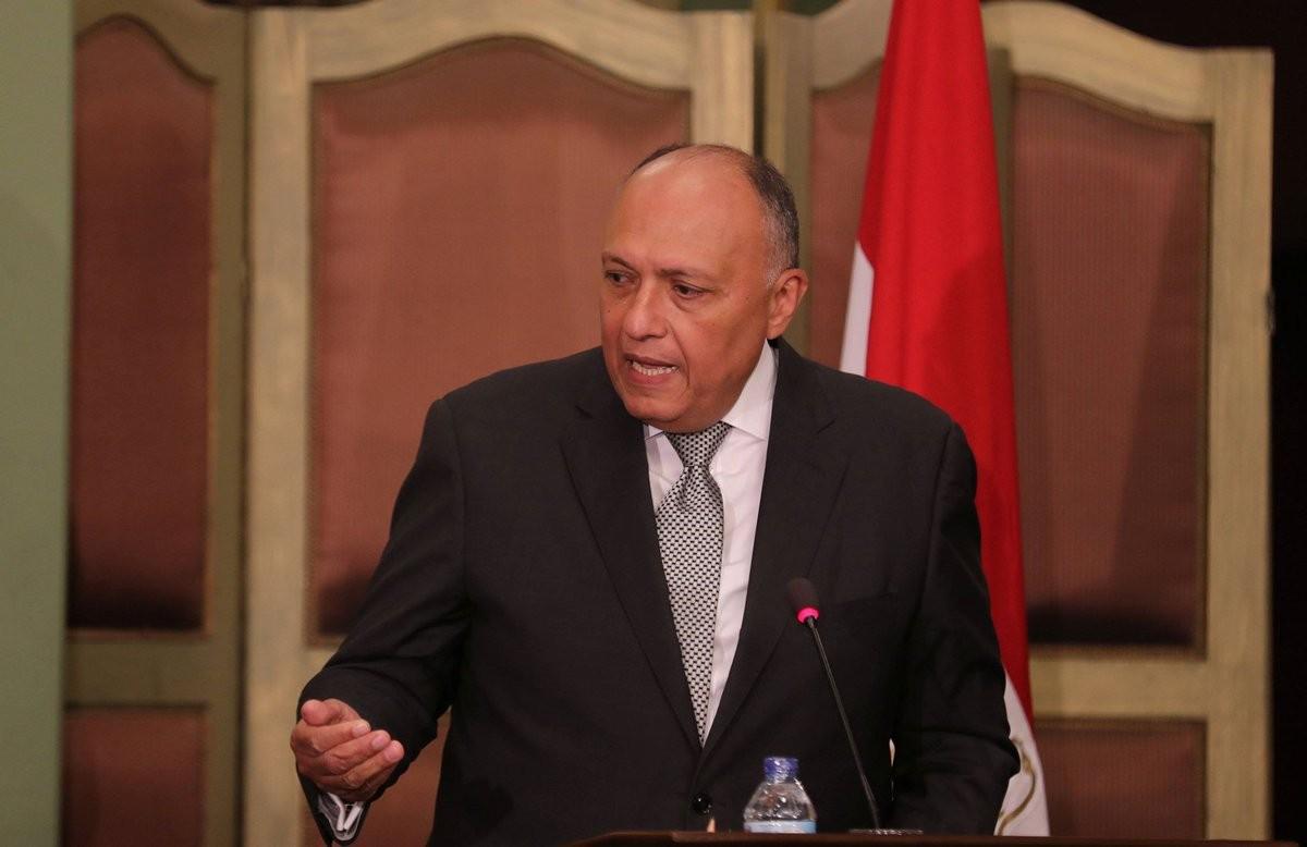 سامح شكري- وزير الخارجية المصري