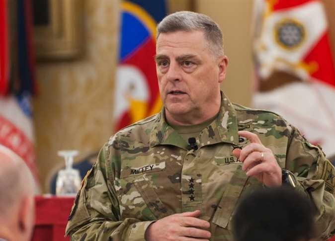 رئيس هيئة الأركان الأمريكية المشتركة الجنرال مارك ميلي