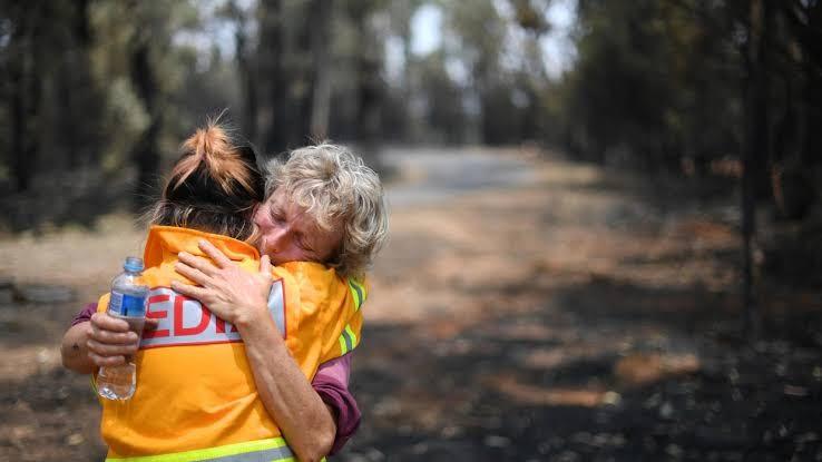 متضرري حرائق الغابات بأستراليا