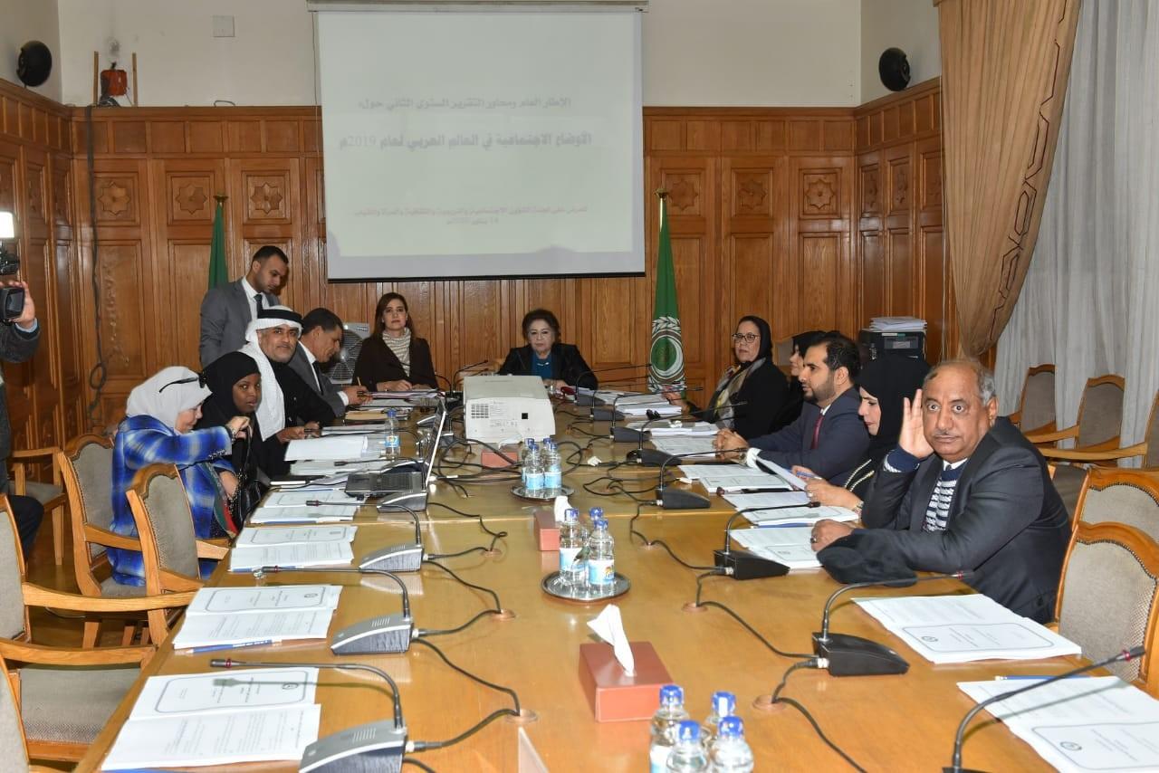اجتماع لجان البرلمان العربي