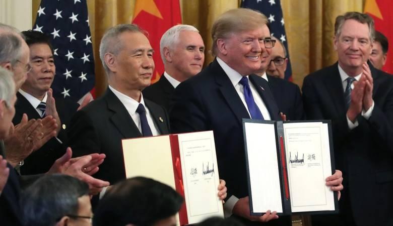 اتفاق أمريكي صيني