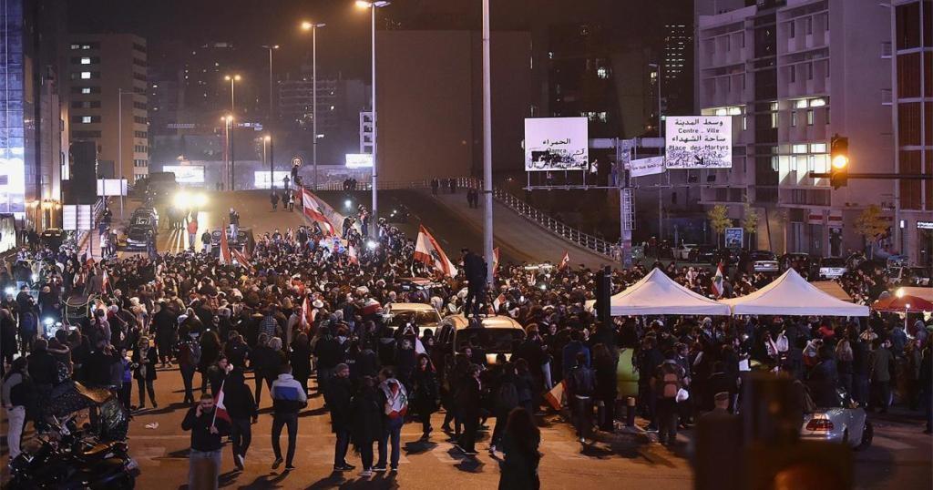 الاحتجاجات في لبنان