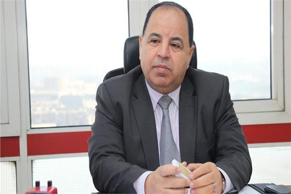 وزير المالية المصرية