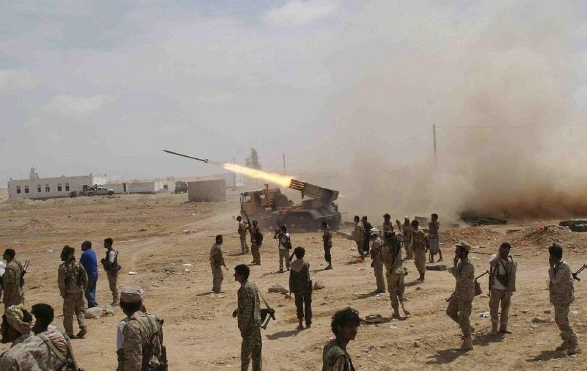 قصف الحوثي