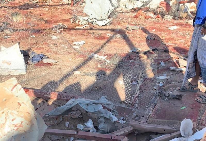 الهجوم على مسجد في محافظة مأرب