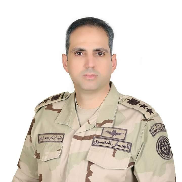 المتحدث الرسمي للقوات المسلحة المصرية