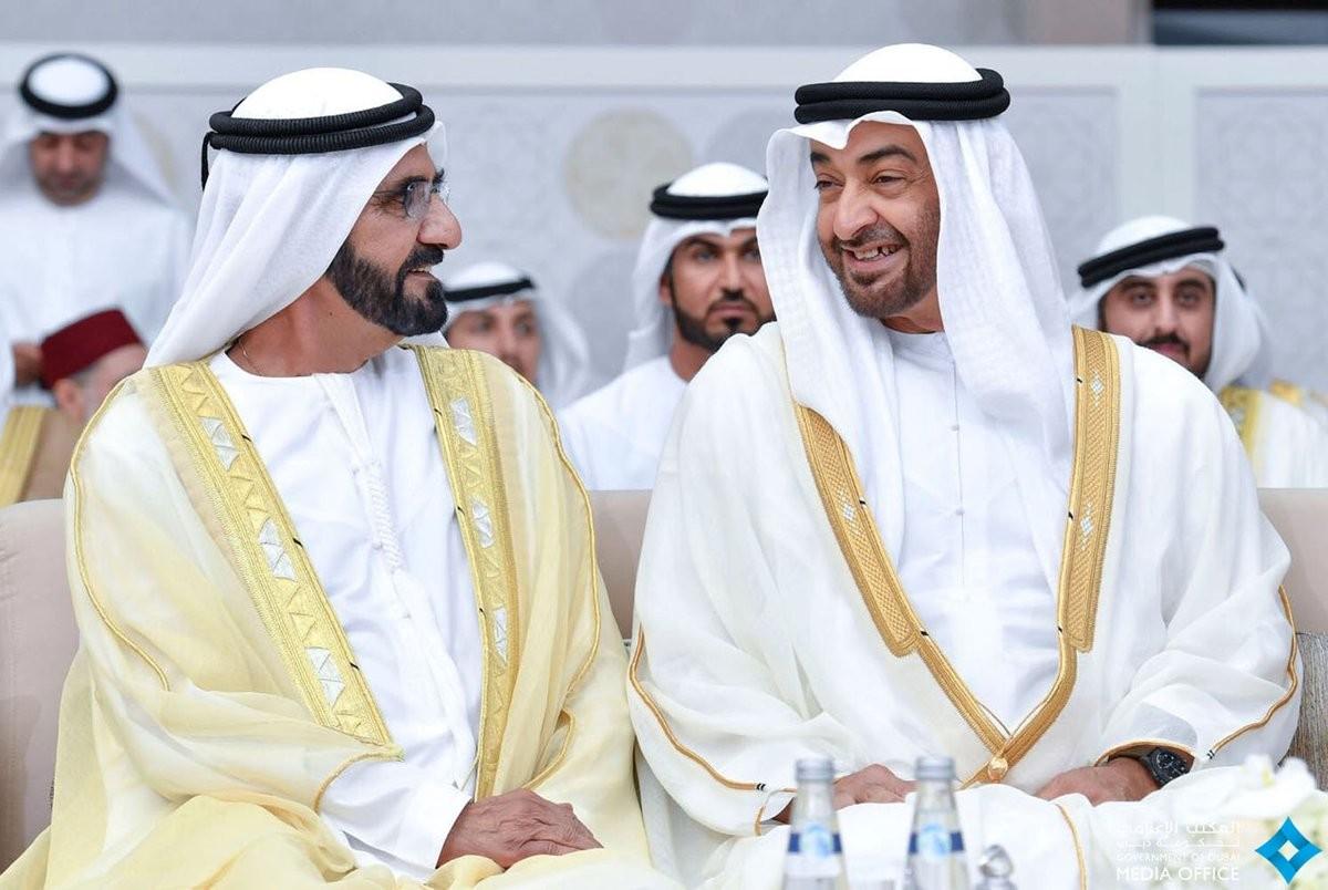 محمد بن زايد ومحمد بن راشد