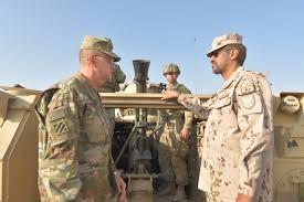 فعاليات التمرين العسكري المشترك الإماراتي الأمريكي