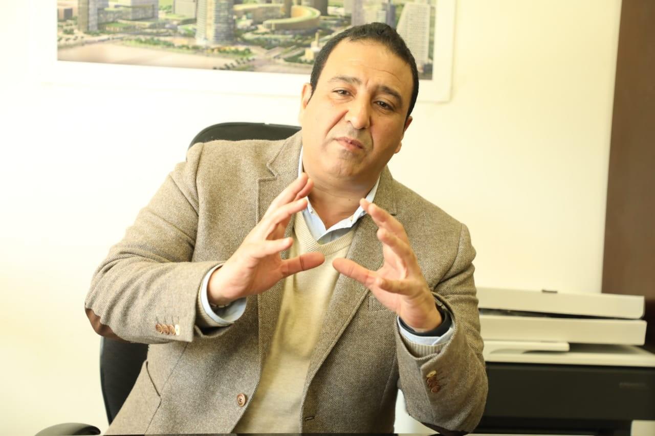 العميد خالد الحسيني - المتحدث باسم العاصمة الإدارية