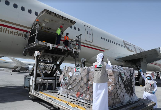 مساعدات الإمارات