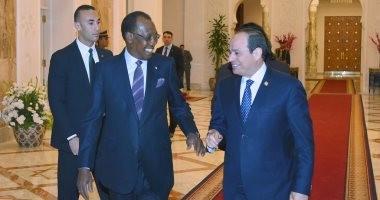السيسي والرئيس التشادي