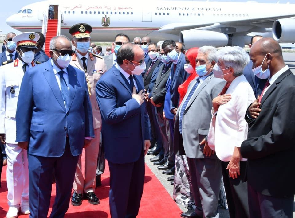 زيارة الرئيس إلى جيبوتي