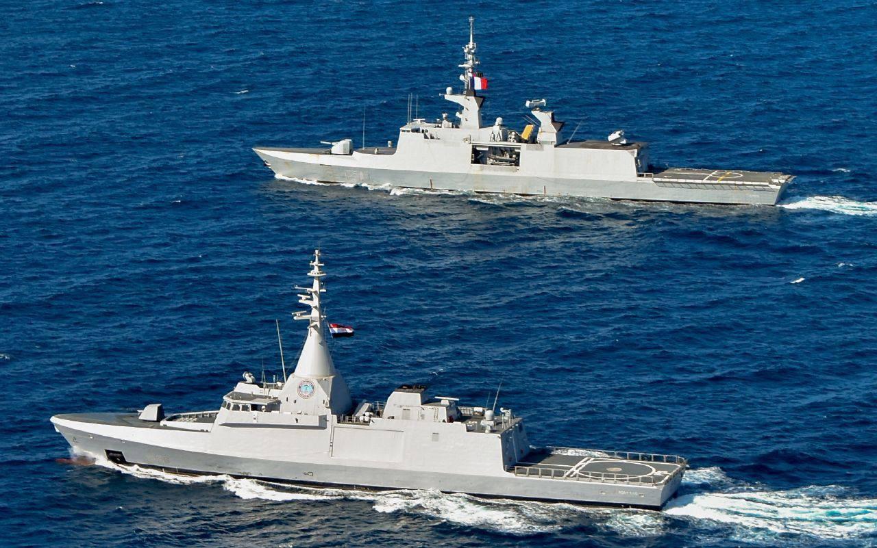 التدريبات البحرية