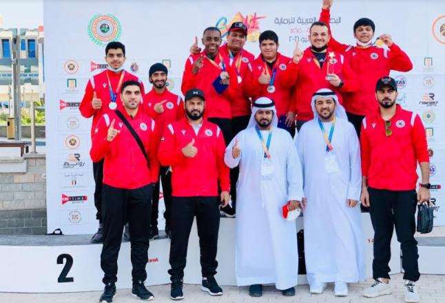 منتخب الإمارات للرماية