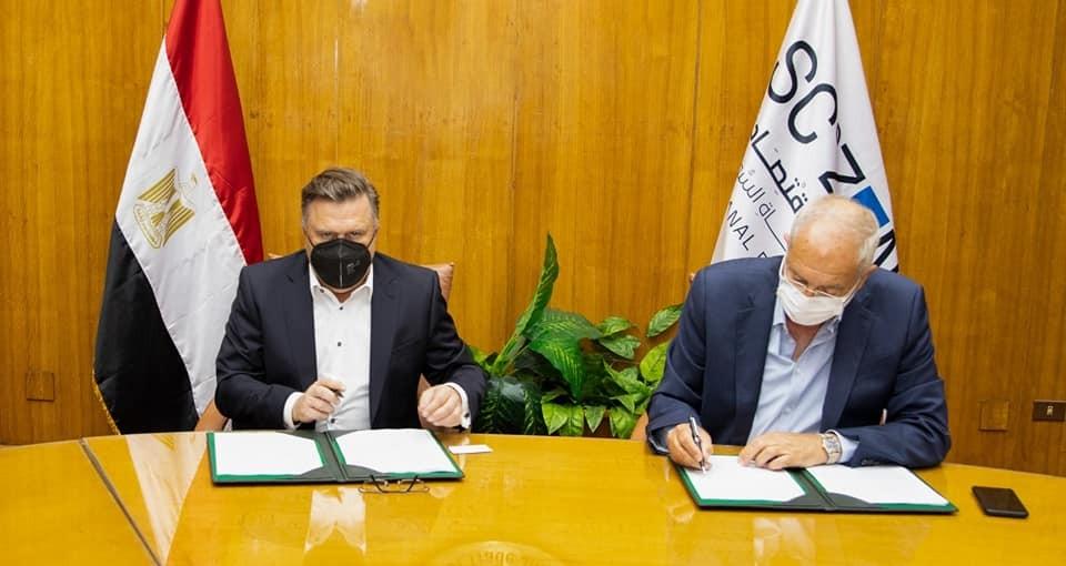 توقيع العقد