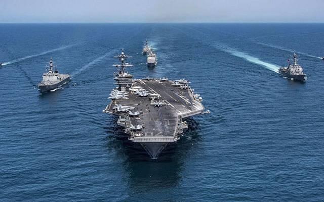 الأسطول الخامس الأمريكي يتحرك بعد استهداف ناقلة إسرائيلية ببحر العرب