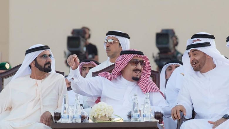 محمد بن زايد ومحمد بن راشد يهنئون السعودية بيومها الوطني: مناسبة نجدد فيها الأخوة