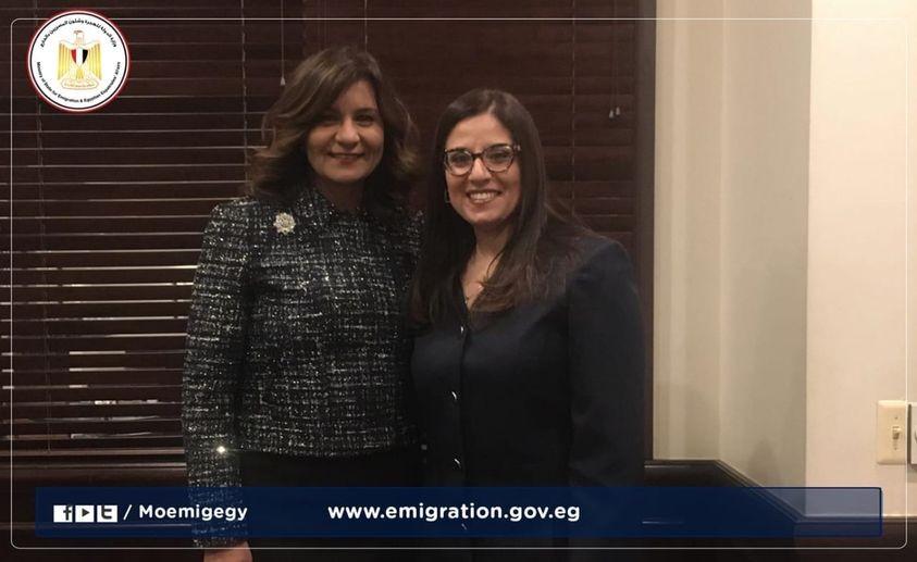 القاضية ووزيرة الهجرة