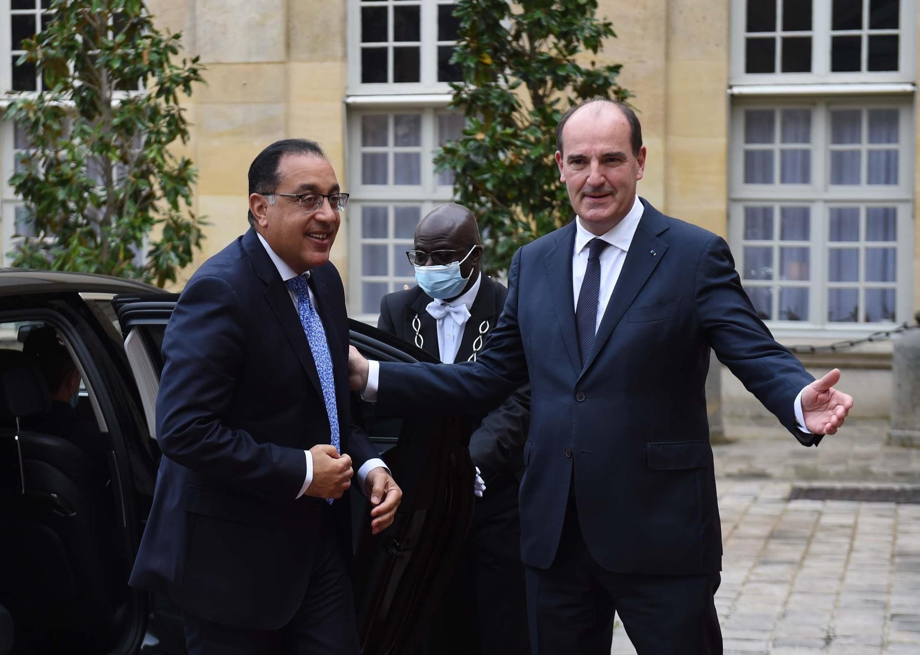 رئيس الوزراء الفرنسي: مصر دولة محورية وذات حضارة عظيمة