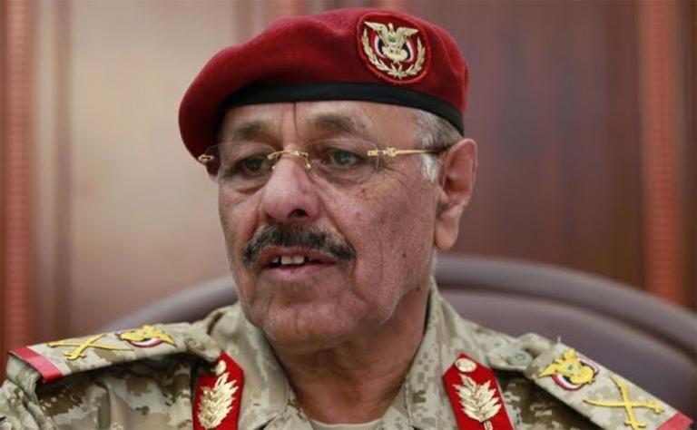 نائب الرئيس اليمني الفريق الركن علي محسن صالح