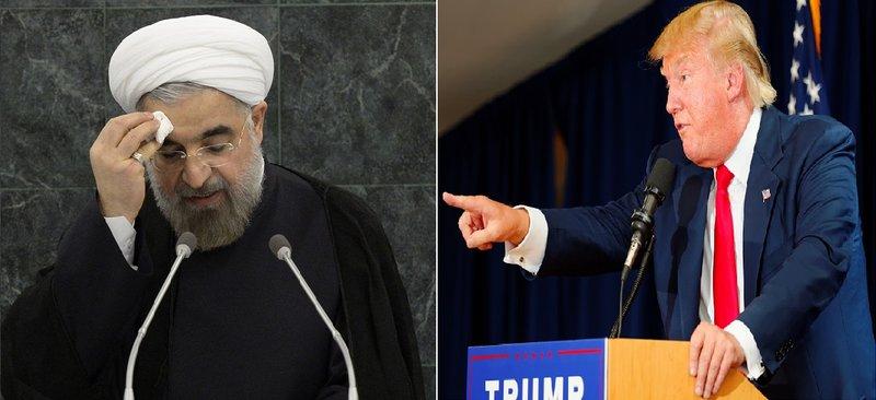الرئيس الامريكي ونظيره الايراني
