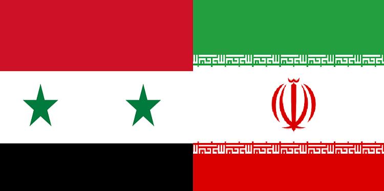 علم إيران وسوريا