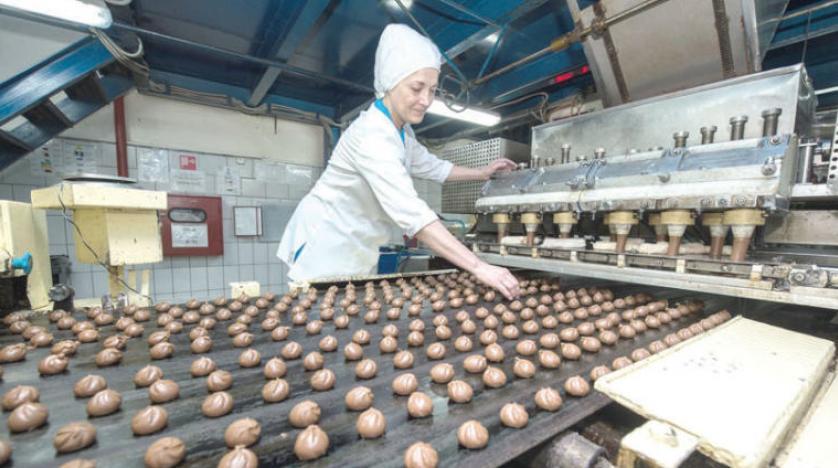 أحد مصانع الأغذية في روسيا