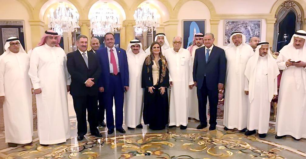 سحر نصر ومستثمرين سعوديين
