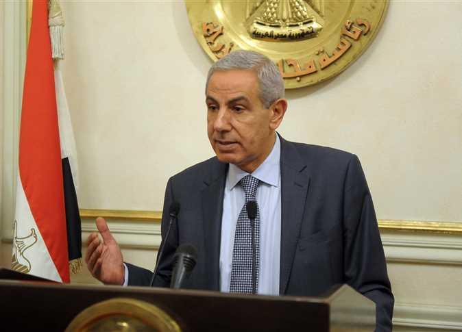 وزير التجارة والصناعة المصري المهندس طارق قابيل