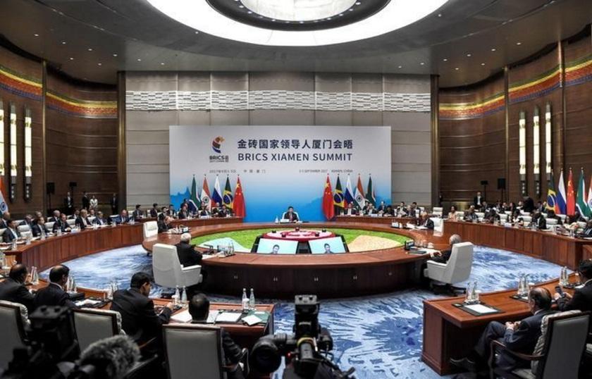 جانب من اجتماع دول بريكس