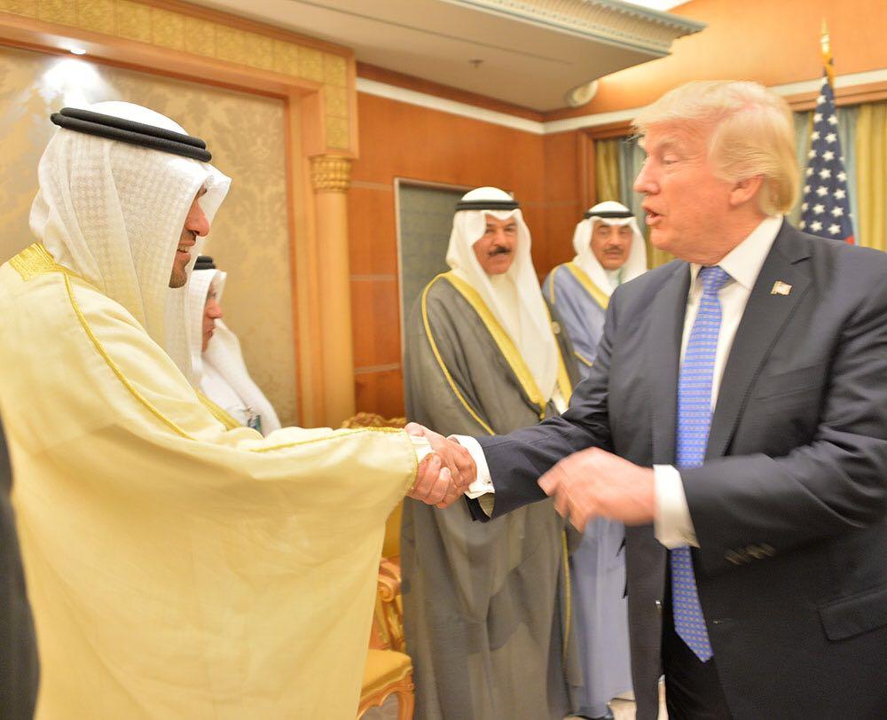 ترامب والصالح