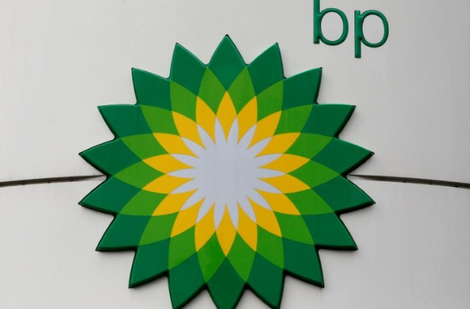 شعار شركة بي.بي النفطية العملاقة