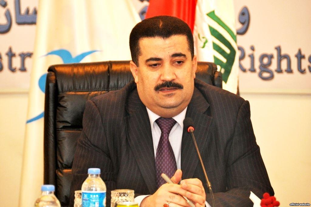 وزير الصناعة والمعادن والعمل العراقي المهندس محمد شياع السوداني