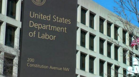 وزارة العمل الامريكية
