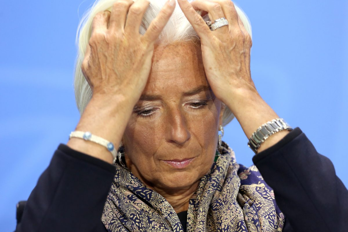 كريستين لاجارد- مديرة صندوق النقد الدولي