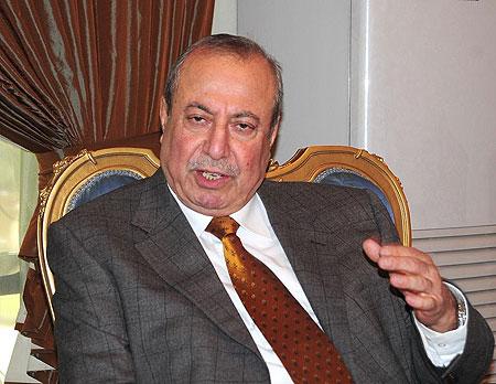 روز نوري شاويس رئيس الوفد الكردي