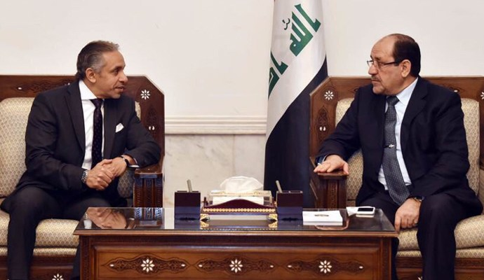 المالكي والسفير المصري